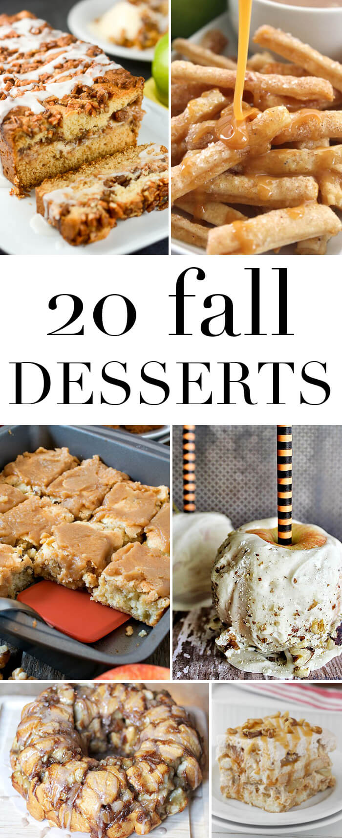 20 Fall Dessert Recipe Ideas