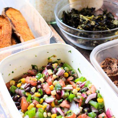 Weekly Meal Prep: Veggie Burrito Bowls