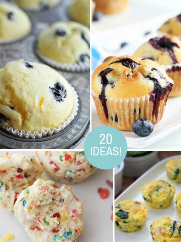 20 Breakfast Muffin Recipes to help you start your week