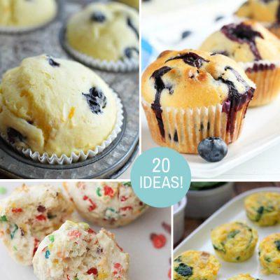 20 Breakfast Muffin Recipe Ideas