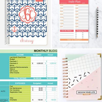 20 Handmade Ways to Organize Your Life