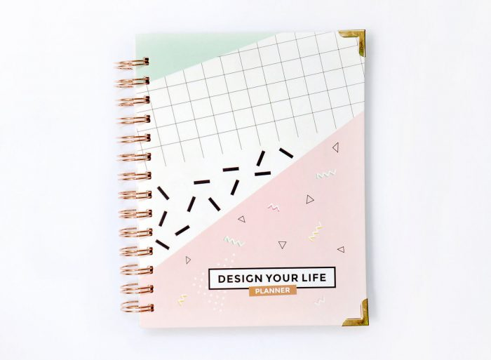 I love this visual Design Your Life 2017 Planner from C & S Designs.