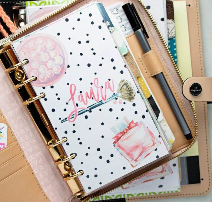 Having this pretty Planner Dashboard from My Newest Addiction might encourage you to pop open your planner more often.