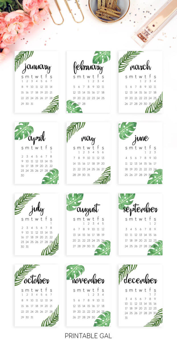 Free Printable Calendar   Black And White Dated Calendar