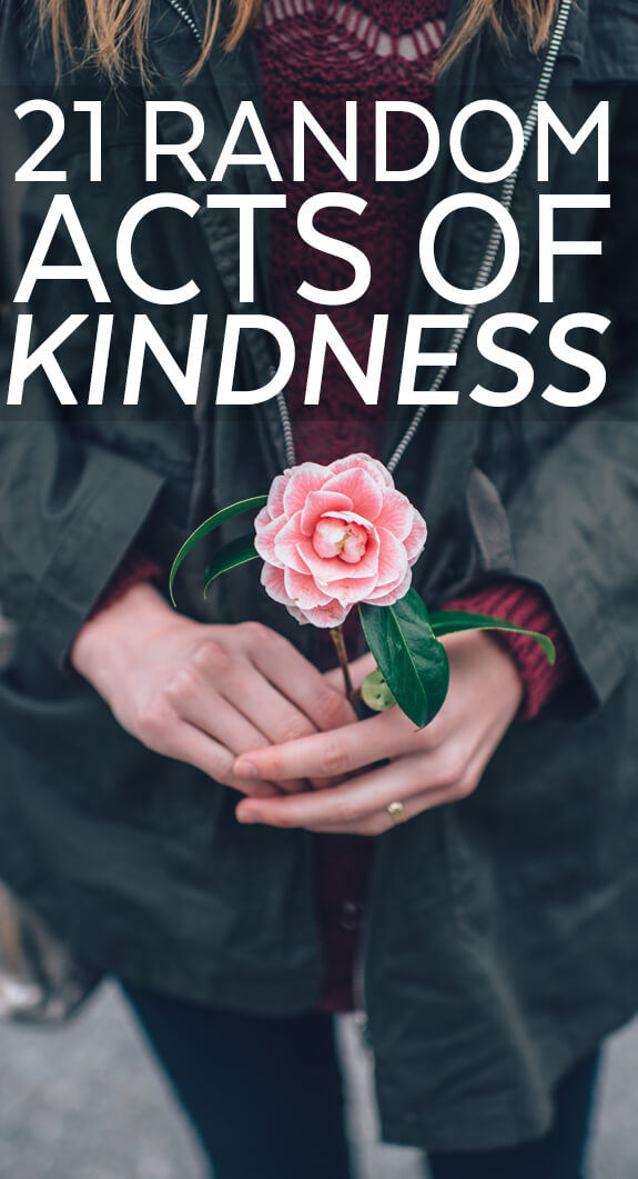 21 Random Acts of Kindness Ideas