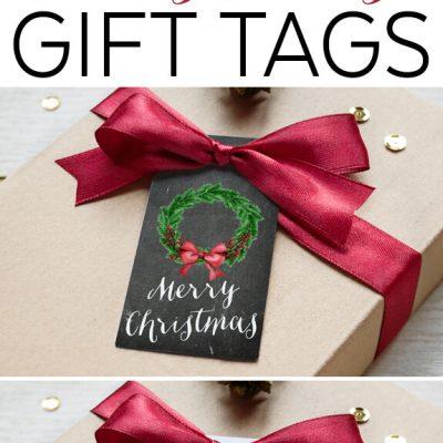 4 Free Printable Christmas Tags