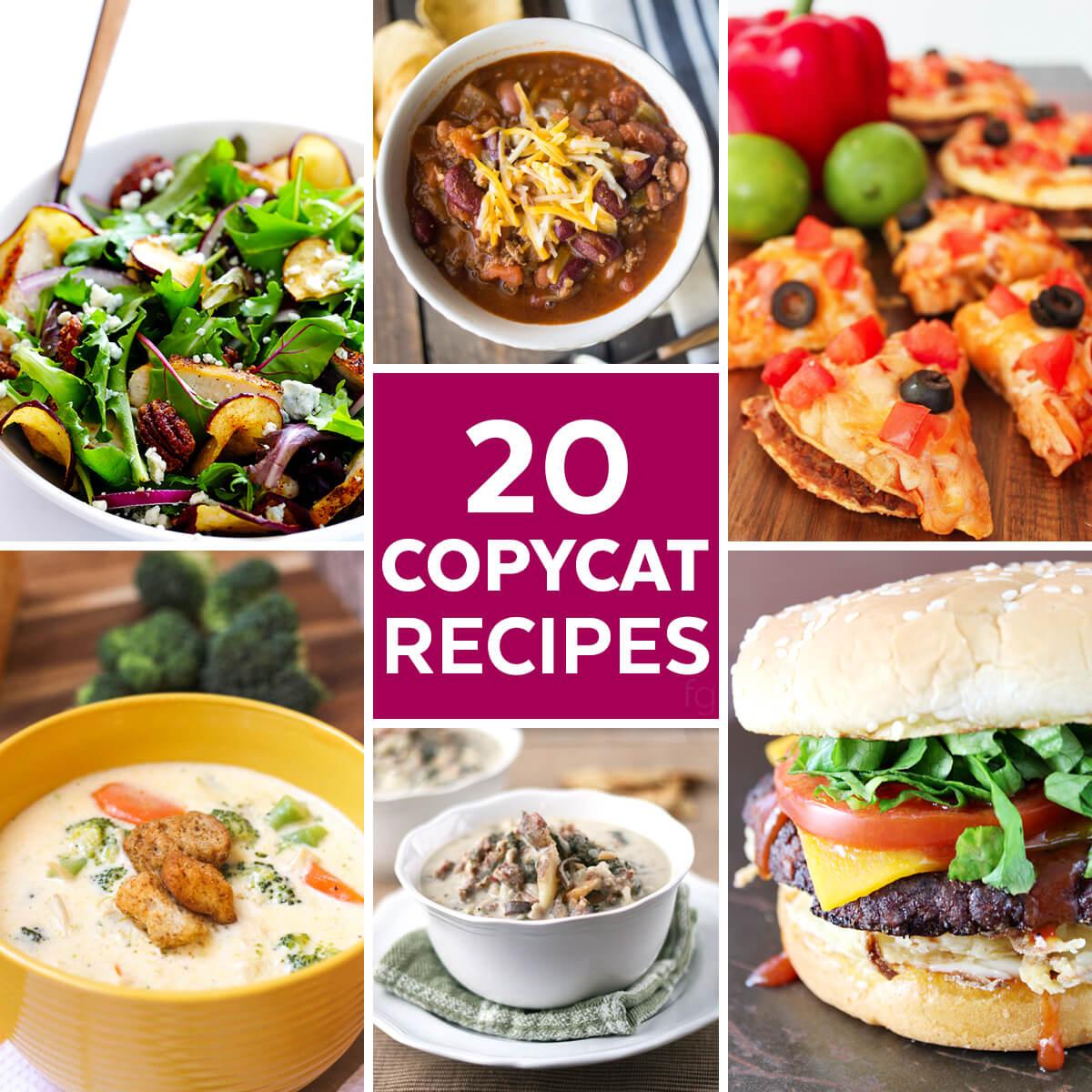 20 Restaurant Copycat Recipes
