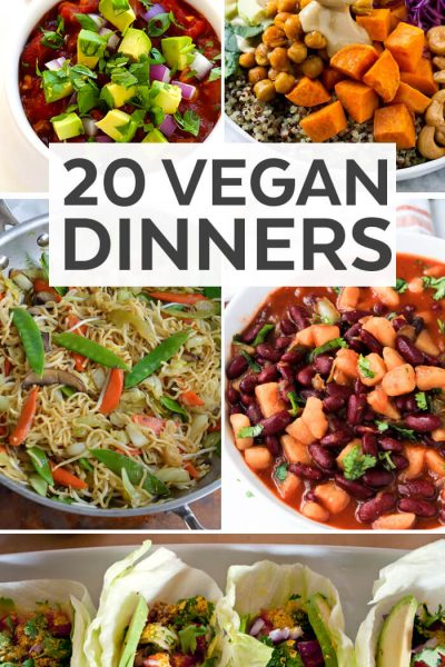 20 Vegan Dinner Recipes