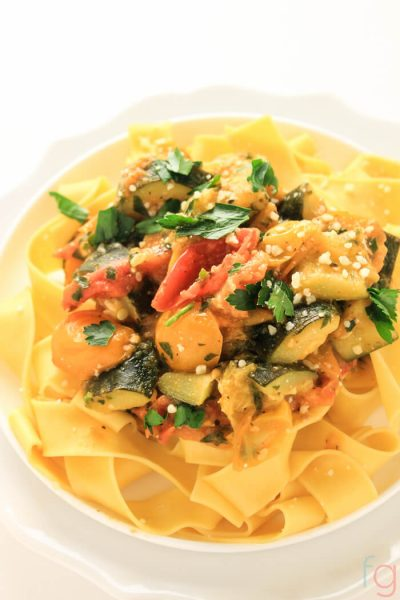 30 Minute Easy Vegetarian Pasta Recipe