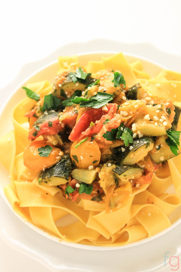 Easy Vegetarian Pasta Recipe