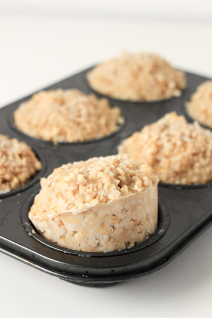 Freezer Meals Healthy - Freezer Oatmeal Cups - Freezer Breakfast - Freezer Oatmeal Muffins - Freezer Cooking Before Baby - Freezer Breakfast Meals - Meal Prep for the Week - Meal Prep Recipes - Meal Prep Breakfast Ideas