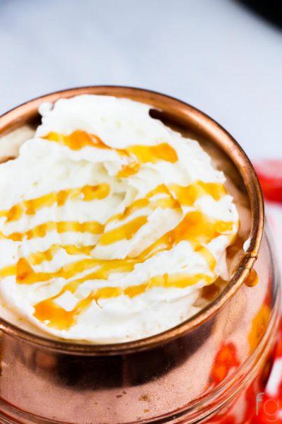 Crockpot Caramel Lattes