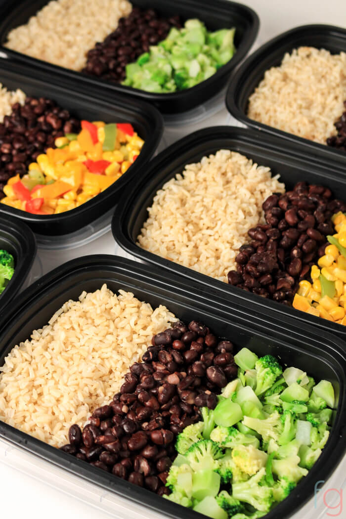 Easy vegetarian meal prep 30 minute vegan meal prep vegan meal prep on a budget easy vegetarian meal prep for the week make forumfinder Choice Image
