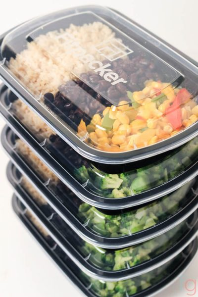 Easy Vegetarian Meal Prep