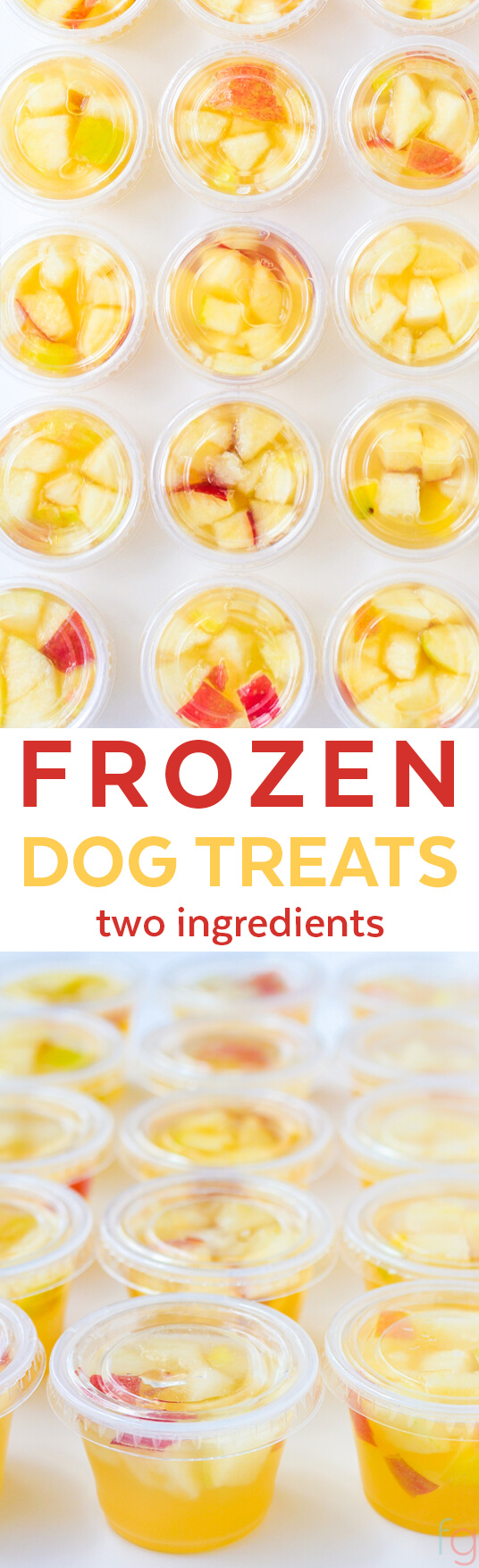 Frozen Dog Treats Homemade - Summer Dog Treats Frozen Ice Cubes - Homemade Dog Treats Easy - DIY Dog Treats Healthy - Chicken Apple Dog Treats - Chicken Broth Dog Treats Frozen - Apple Dog Treats Homemade