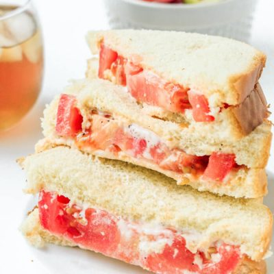Tomato Mayo Sandwich – Frugal Meal Idea