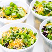 This easy vegetarian meal prep will help you simplify your mornings. These make ahead vegetarian breakfast bowls are flavorful, filing and fresh.