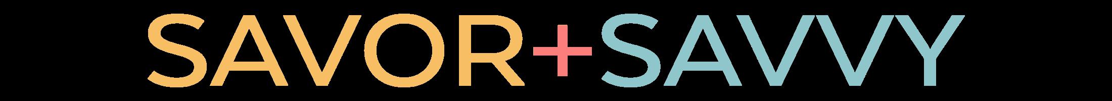 Savor and Savvy Logo