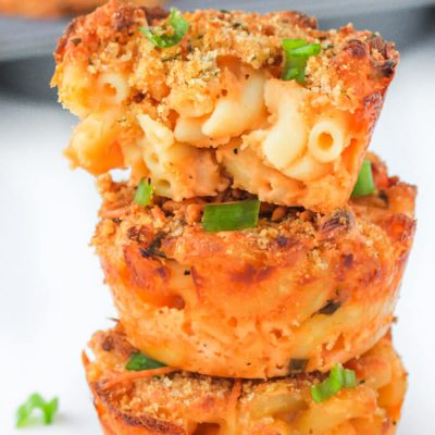 Muffin Tin Mac and Cheese Cups