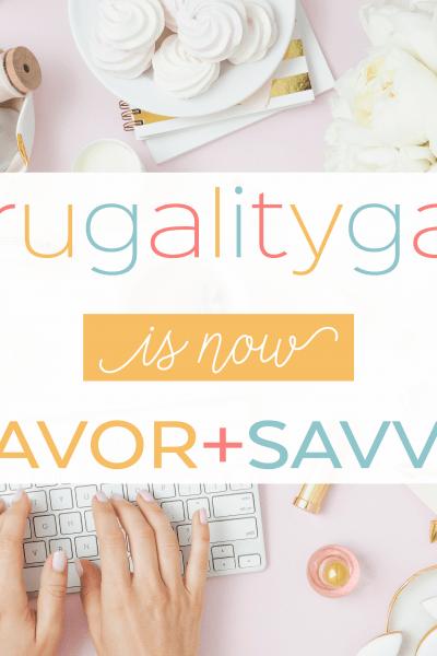 Savor and Savvy