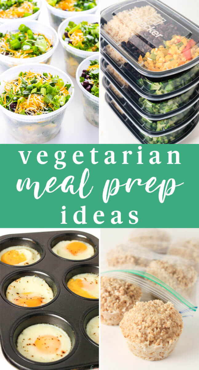 Vegetarian Meal Prep Ideas for Beginners - Vegetarian Meal Prep for the Week - Meal Prep Recipes for Beginners - Make Ahead Meals - Make Ahead Freezer Meals - Vegetarian Freezer Meals Make Ahead Vegetarian Meals - Freezer Cooking on a Budget