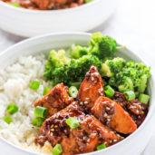 Honey Teriyaki Tofu Recipe Rice Bowls - Marinated Tofu Recipes Easy Vegetarian Recipes Dinner Easy - Vegetarian Meals Easy - Vegetarian Dinner Ideas - Meatless Meals Easy - Meatless Monday Recipes
