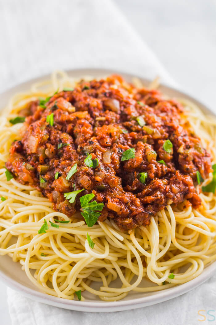 Simple Homemade Vegan Spaghetti Sauce Savor Savvy