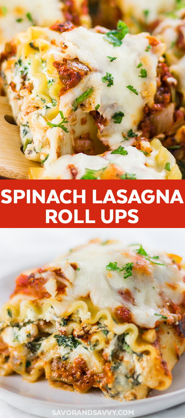 How to Make Freezer Friendly Spinach Lasagna Rolls