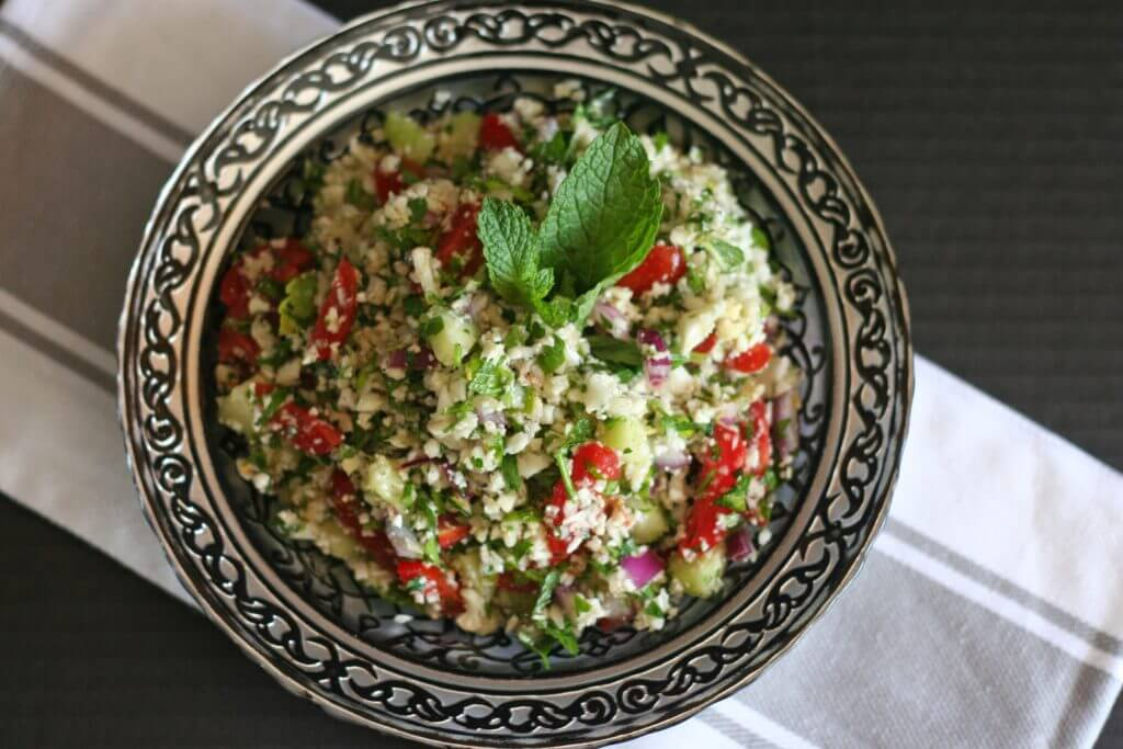 Cauliflower Tabbouleh - 20 Vegan Dinners You Should Make Tonight