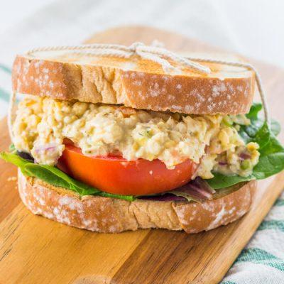 Vegan Chickpea Tuna Salad