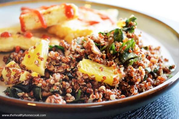 Crispy Tofu with Orange Pecan Quinoa - 20 Vegan Dinners You Should Make Tonight