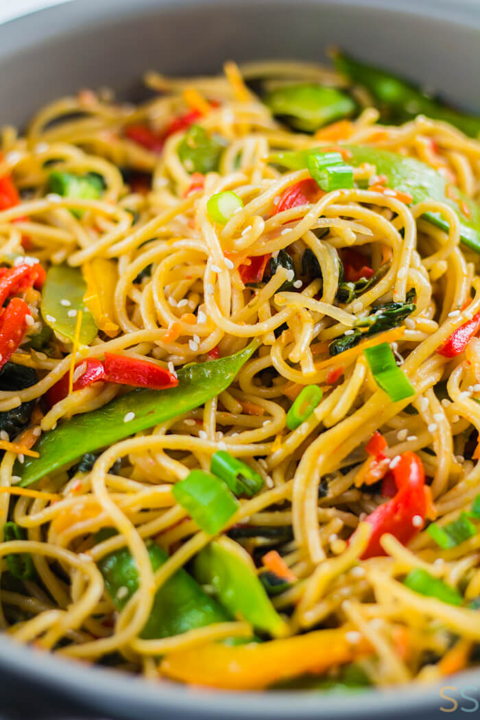 Vegetable Lo Mein - 20 Vegan Dinners You Should Make Tonight