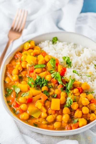 Stewed Chickpeas