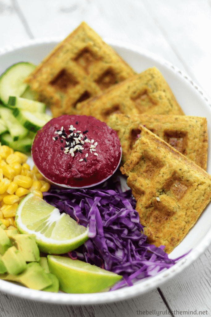 Vegan Falafel Waffles - 20 Vegan Dinners You Should Make Tonight