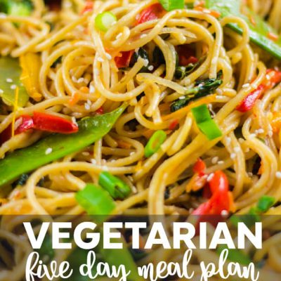 Free Vegetarian Meal Plan