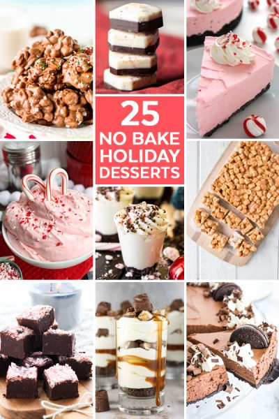 No Bake Desserts for the Holidays