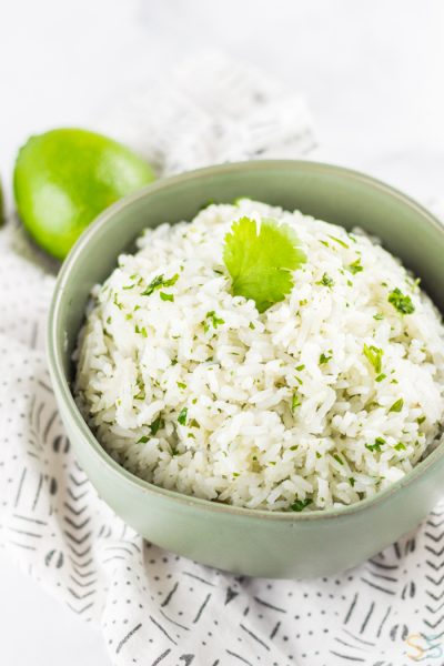 Super Simple Cilantro Lime Rice Recipe