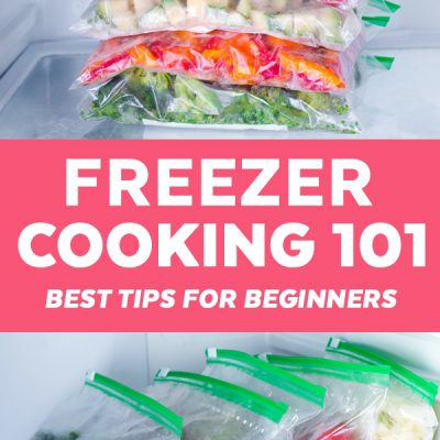 10 Freezer Cooking Tips for Beginners