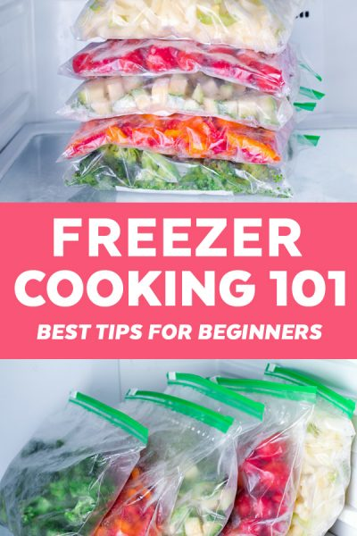 Freezer Cooking 101 - Stock your freezer with make ahead freezer meals without stressing yourself out with these 10 simple tips.