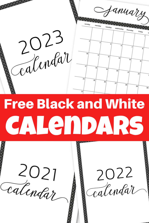 2021 and 2022 Free Printable Calendar and Template