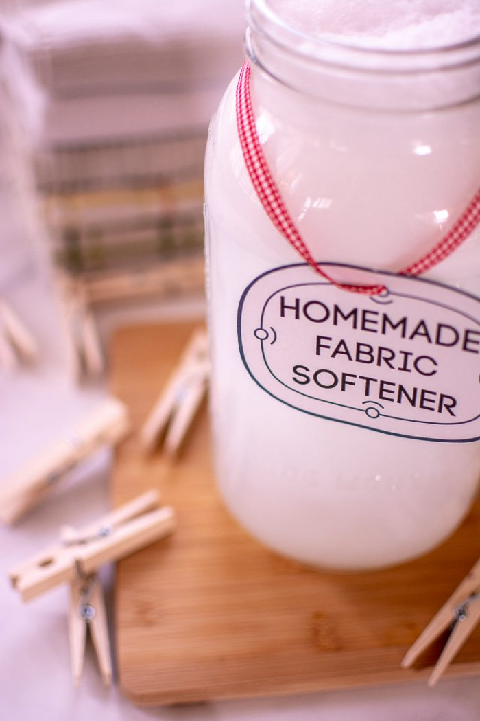 Frugal Laundry Hack – Make Your Own Homemade Fabric Softener