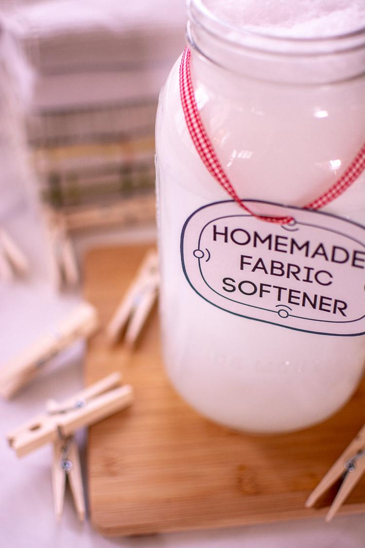 Make Homemade Fabric Softener for $1.10