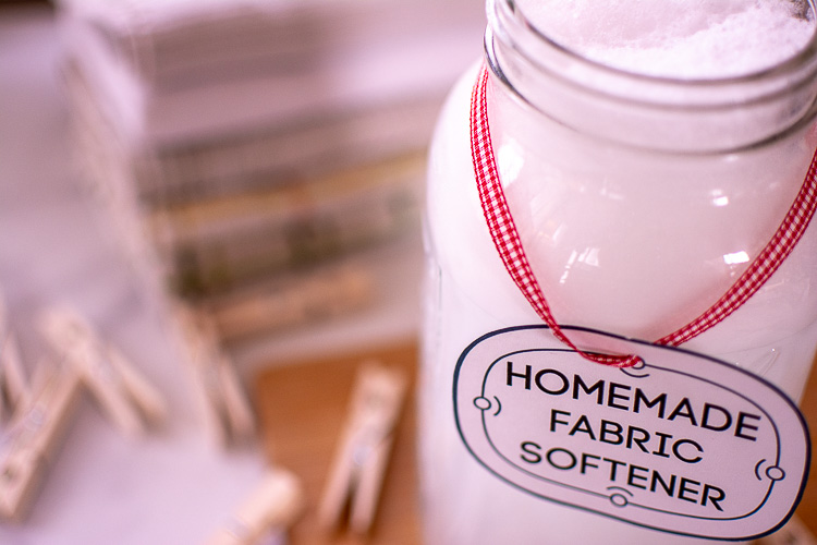 Make Homemade Fabric Softener for $1.10