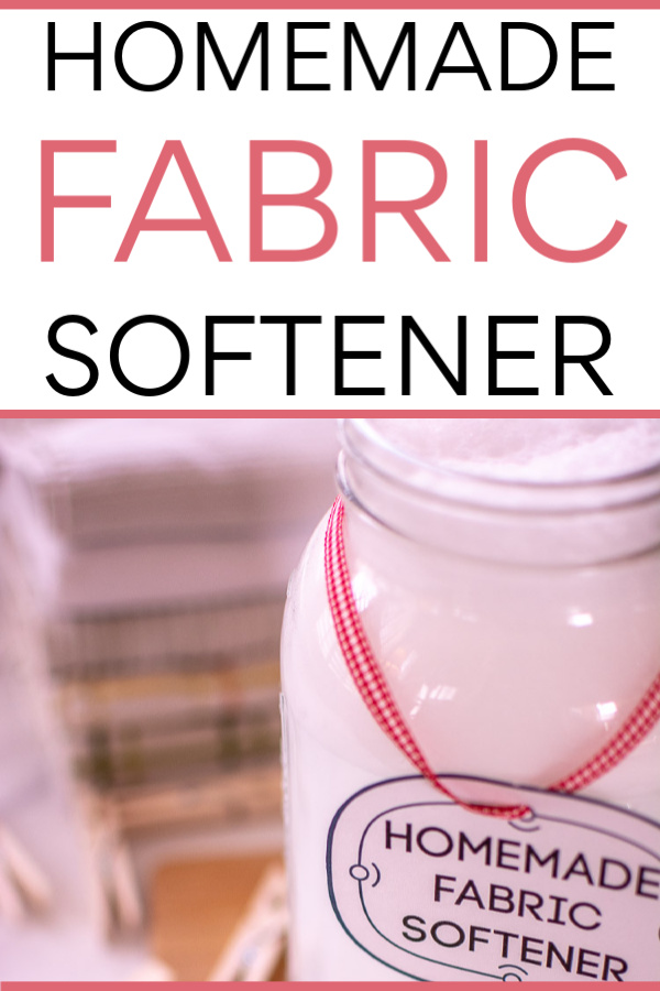 Save Money on Shopping with this Frugal Life Hack. Learn how to Make your own homemade fabric softener, save on your grocery budget, and remove all those chemicals from your laundry. #FabricSoftener #LifeHack #HomemadeFabricSoftener #Homemade #Laundry #frugal #frugallife