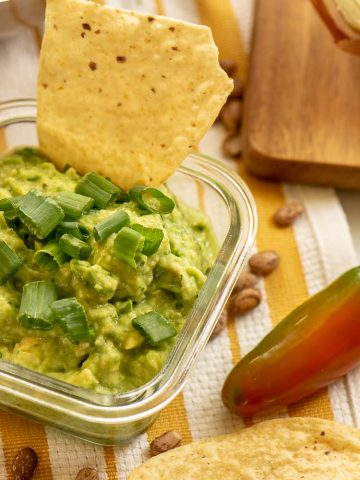 Chips and Dip are a perfect use for Blender Guacamole