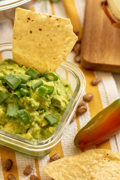 Fresh and Easy Homemade Blender Guacamole