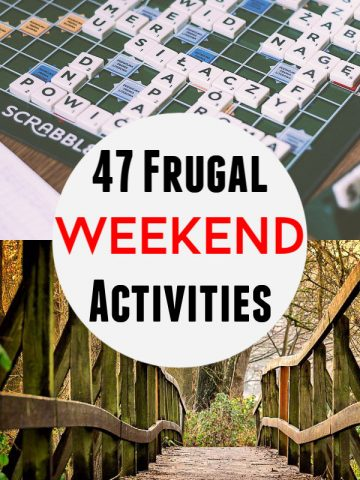 47 Fun and Frugal Weekend Activities to Help You Save Money and Live a Minimalist Life #Frugal #Cheap #WeekendIdeas #FrugalLiving #Hiking