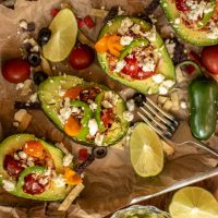 Best Chicken Taco Stuffed Avocado Recipe
