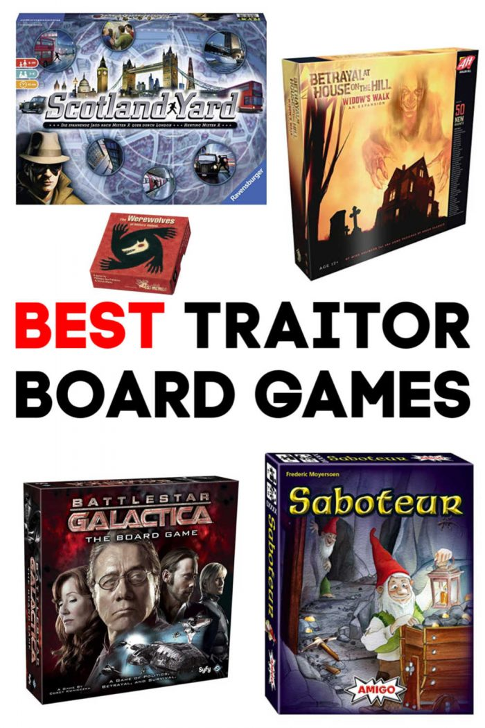 Best Traitor Board Games
