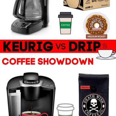 Keurig vs. Drip Coffee | Discover a True Price and Taste Comparison